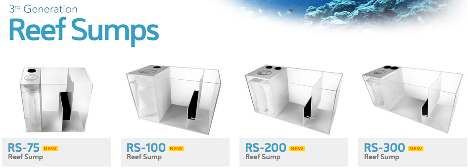 Third Generation Reef Sumps Are Here From Eshopps